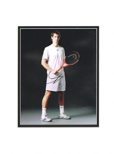 Andy Murray Autograph Photo